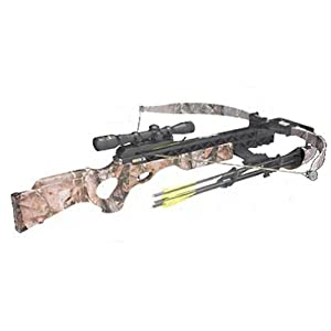 Excalibur Ibex SMF Crossbow Kit with SMF Scope, Realtree AP by Excalibur