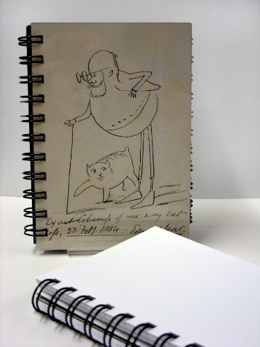 Edward Lear & his cat Fosse Notebook