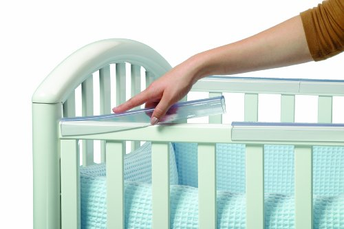 Crib Rail Covers for Teething Padded Crib Edge Guards  : 41kKBR2BKETL from www.squidoo.com size 500 x 333 jpeg 25kB