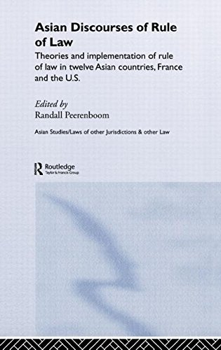 Asian Discourses of Rule of Law: Theories and Implementation of Rule of Law in Twelve Asian Countries, France and the U.S. (Routledge Law in Asia)