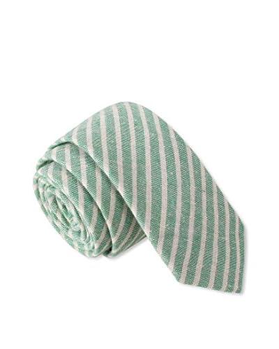 Skinny Tie Madness Men's Dr. Doctor Skinny Tie, Green