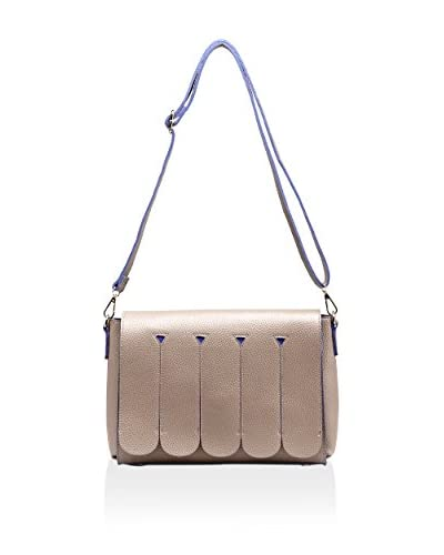 PINK HALEY Women's Harper Round Panel Clutch, Taupe As You See