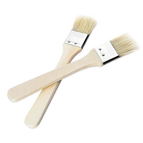 Anam Lot de nettoyant pour pinceau avec poils naturels pinceaux à badigeonner, 4 pièces