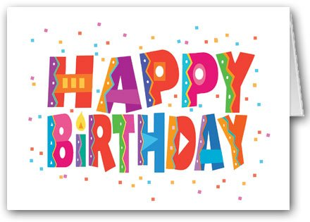 Happy Birthday and Confetti Card Pack - 12 cards