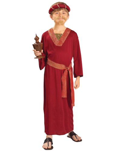 boys - Burgundy Wiseman Child Costume Lg Halloween Costume