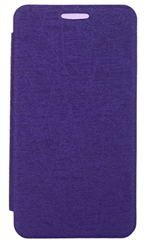 iCandy Soft TPU Non Slip Back Shell PU Leather Hybrid Flip Cover for Samsung Galaxy Note 3 Neo N7505 - PURPLE  available at amazon for Rs.135