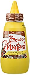 Eden Foods Organic Brown Mustard with Apple Cider Vinegar -- 9 oz