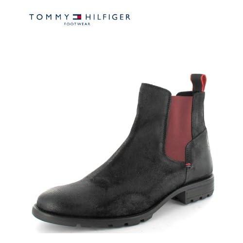 07d34c3d310c7 Tommy Hilfiger Shoes Herren Chelsea Boot Carlos 5 b von TOMMY HILFIGER 48  Schuhe   Handtaschen
