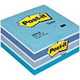 Post-it Notes - Pastel Blue - 1 Cube - 450 sheets - 76 mm x 76 mm