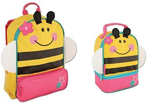 Stephen Joseph Sidekicks Backpack And Lunch Pals School Bag Set, Bee front-922067