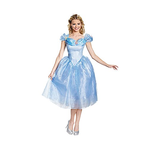 Shindigz Halloween Party Cinderella Movie Adult Costume Deluxe