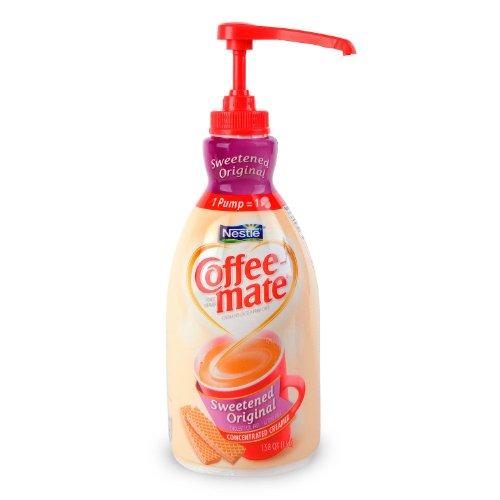 Nestle Coffee-Mate Liquid Creamer Original Sweetened Pump 1.5 L