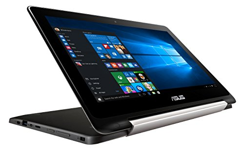 ASUS Transformer Book Flip TP200SA-DH04T 11.6-inch 2 in 1 Touchscreen Laptop (Intel Braswell Dual Core N3050 1.6GHz, 4GB memory, 64GB SSD with Windows 10 pre-installed)