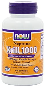 Now Foods Neptune Krill Oil 1000 (1,000mg, 60 Softgels)