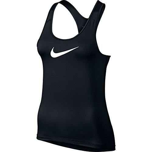 Nike Womens Pro Cool Training Tank Top Black/White 725489-010 Size Large