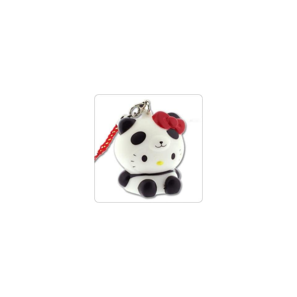 Sanrio Hello Kitty Glowing Light Charm (Panda/Black)