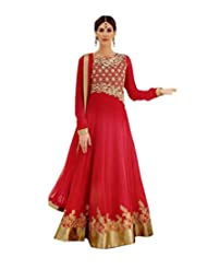 Saree dotcom Women Georgette Anarkali Suit
