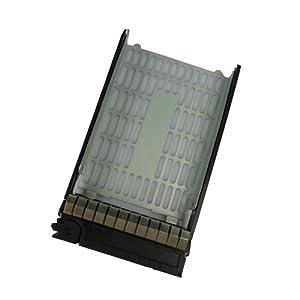 "3.5"" SATA SAS Hard Drive Tray Caddy for HP Proliant ML110 G3, ML150 G3, ML150 G5, ML150G6 Replacement for HP Compaq 373211-001"