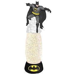 Westland Giftware Glitter Globe Lamp, 12-Inch High, DC Comics Batman