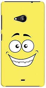 Kasemantra Happy Face Case For Microsoft Lumia 535