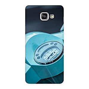 Scooter Meter Multicolor Back Case Cover for Galaxy A7 2016