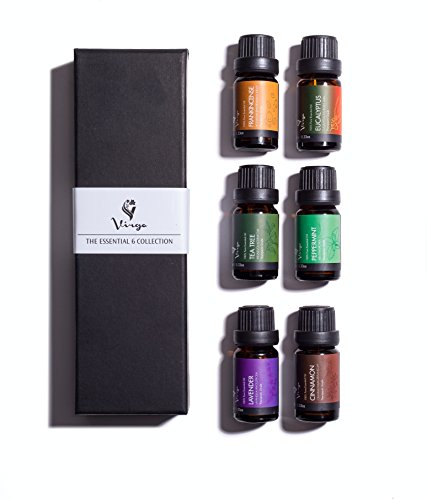 Aromatherapy & Massage Essential Oils Kit - 6 pack