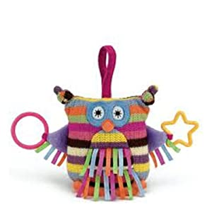 Little Jellycat - Hoot Owl - Baby Activity Toy