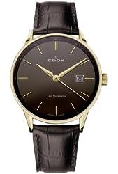 Edox Les Vauberts Men's Quartz Watch 70172-37JG-GID