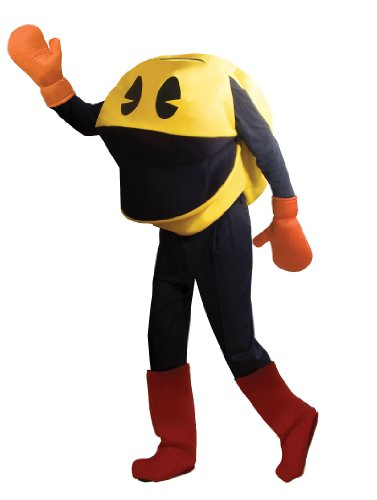 Adult Deluxe Pac Man Costume