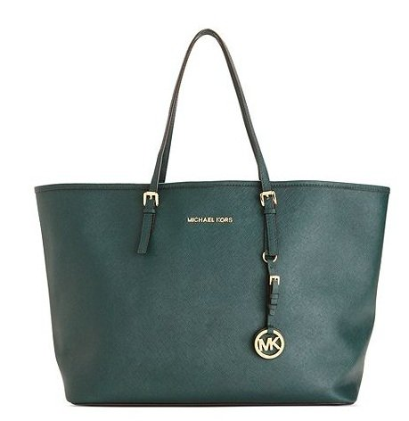 Michael Michael Kors Jet Set Travel Tote Hunter Green