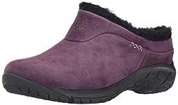 Merrell Women\'s Encore Ice Slip-On Shoe, Plum, 6 M US