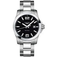 LONGINES 腕時計 RELOJ CONQUEST ESF.NEG. L36594586 メンズ [並行輸入品]