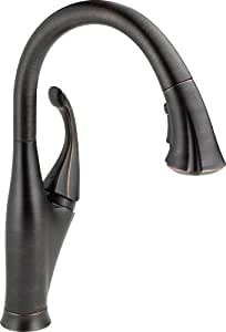 Delta 9192-RB-DST Addison Single Handle Pull-Down Kitchen
