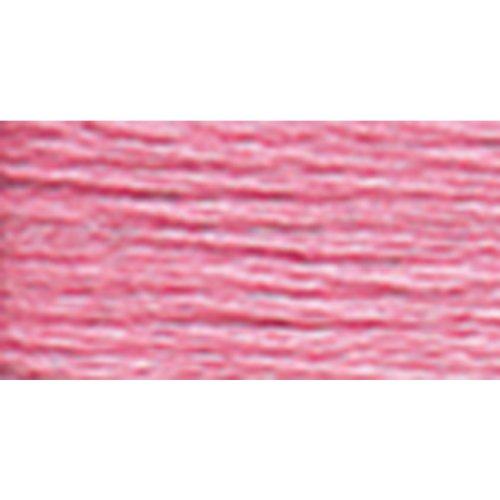 DMC 117-604 Six Stranded Cotton Embroidery Floss, Light Cranberry, 8.7-Yard