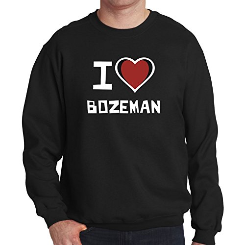 Felpa I love Bozeman