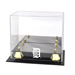 Mounted Memories Detroit Tigers Golden Classic Mini Helmet Case by Mounted Memories