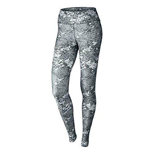 Leggings Nike Abbigliamento donna Legend Poly Drift, Unisex, Oberbekleidung Legend Tights Poly Drift, grigio chiaro, M