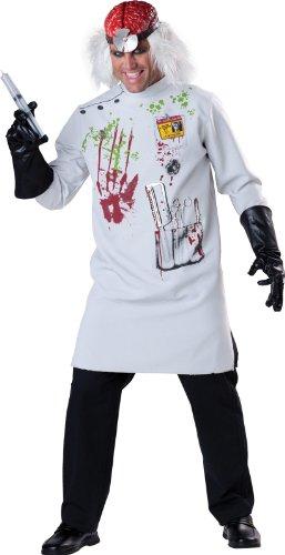 Mad Scientist Adult Costume マッドサイエンティストの大人用コスチューム♪ハロウィン♪サイズ:X-Large