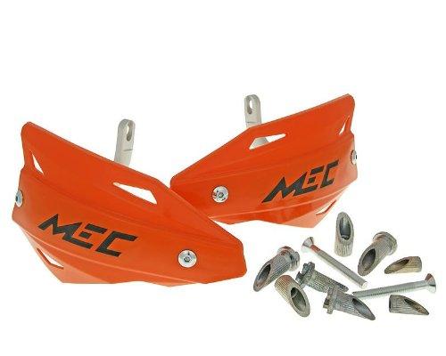 Protge-mains-avec-barre-en-aluminium-oranges