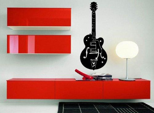 Electric Guitar Music Rock Pop Decor Wall Art Mural Vinyl Decal Sticker P456
