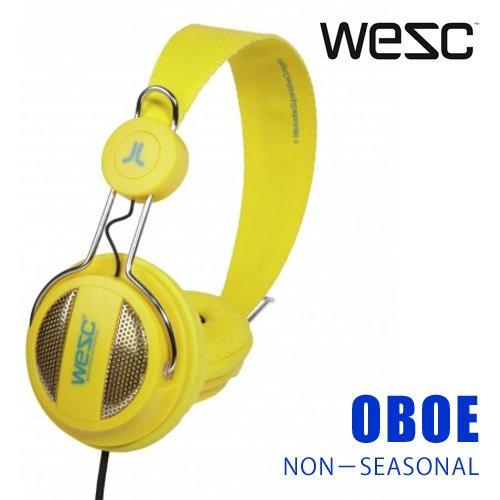 WeSC OBOE VIBRANT YELLOWの写真01。おしゃれなヘッドホンをおすすめ-HEADMAN(ヘッドマン)-