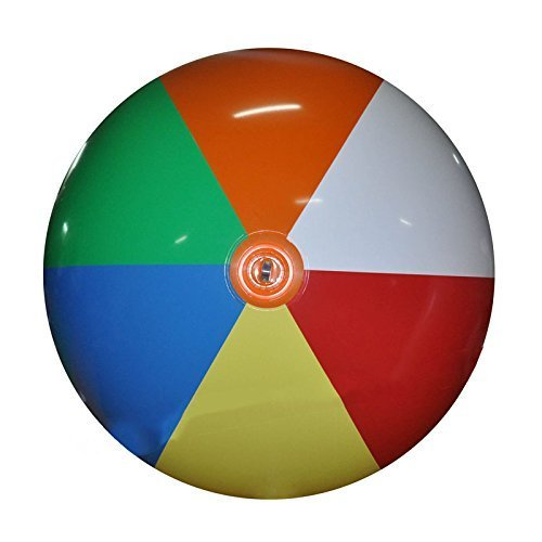Jet Creations Inflatable Giant Beach Ball, 6' by Jet Creations