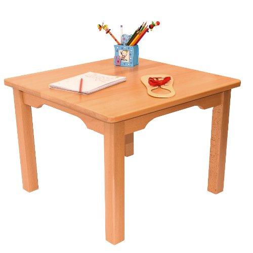 Mobili in legno di faggio per bambini tavolino colore naturale - Tavolino legno bambini ...
