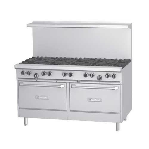 Garland G60-6R24Rs 60€ Mixed Top Burner Gas Restaurant Range - G Series front-593050