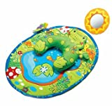 Finest Tiny Love Tummy Time Frog Play Mat - Cleva Edition ChildSAFE Door Stopz Bundle