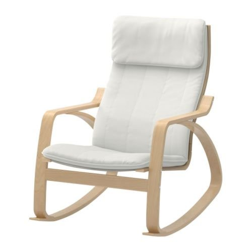 Ikea Toddler Bed Extendable ~ Overview of Ikea Poang Rocking Chair Birch Veneer with Natural Cushion