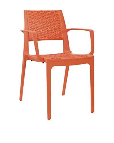Modway Astute Dining Chair, Orange