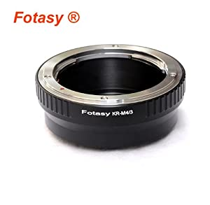 RainbowImaging Konica AR Lens Lens to Micro Four Thirds Cameras from Photography Accessories INC