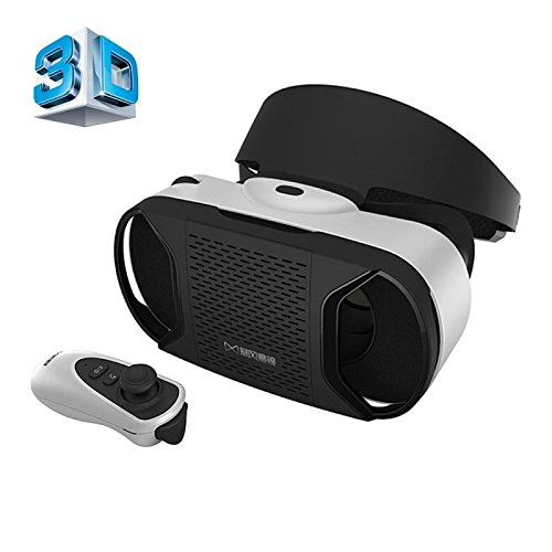 Baofeng Mojing IV Universal Virtual Reality 3D Video Glasses with Bluetooth Remote Controller for 4.7 to 5.5 inch Android Smartphones (Android version)
