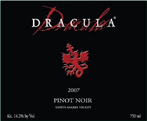 2007 Dracula Pinot Noir Ml